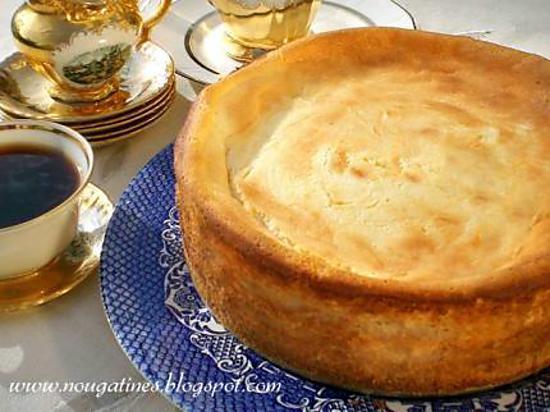 recette Cheesecake a la vanille