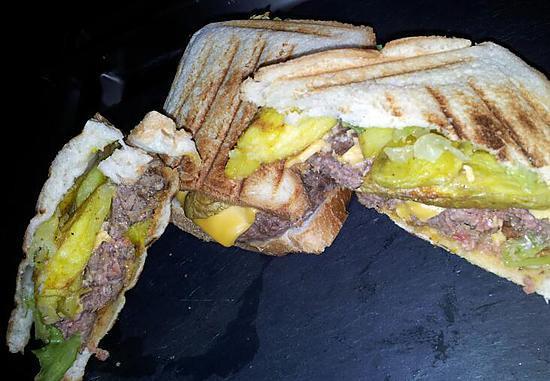 recette Croque sandwich américain