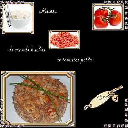 recette risotto à la viande hachée