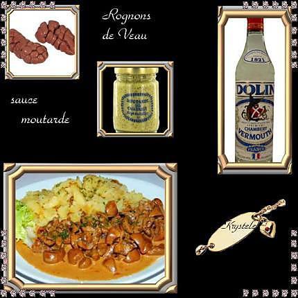 Recette de rognons de veau sauce madere - Recette de rognons de veau ...