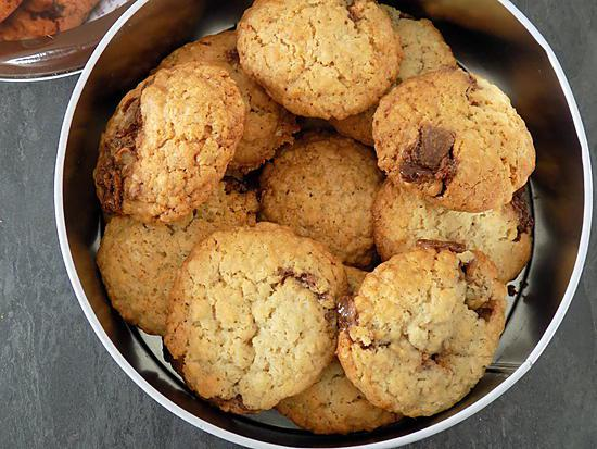 recette Cookies aux mars
