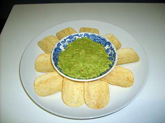recette GUACAMOLE ULTRA RAPIDE