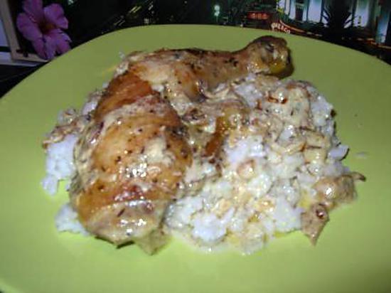 Recette de cuisse de poulet au herbes de provence - Cuisse de poulet calories ...