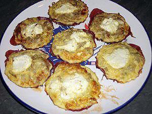 recette Tartelettes endives, boeuf séché et brousse (régime dukan)