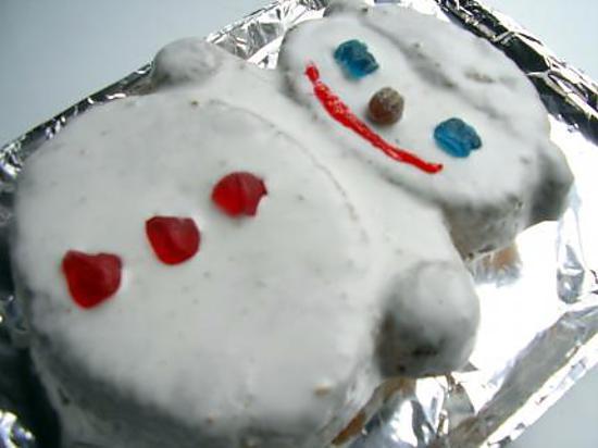 recette le bonhomme de neige