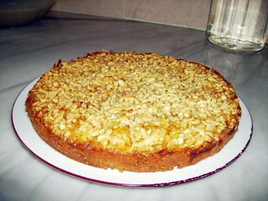 recette Gâteau à l'huile et la confiture