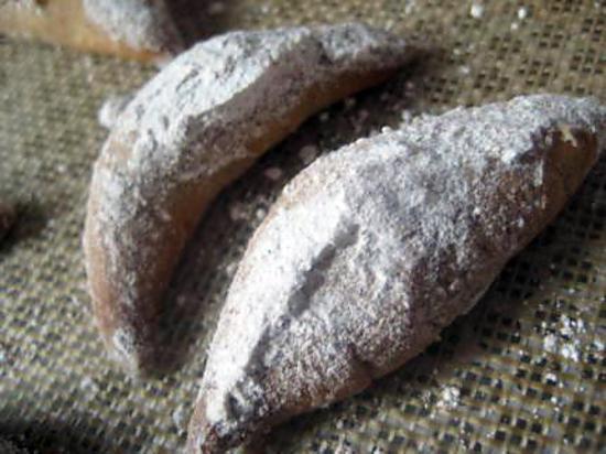recette Mini croissants à la cannelle