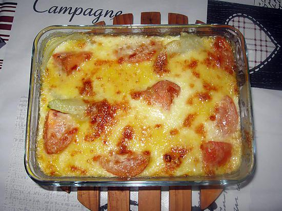 recette de gratin de fenouil et de tomates. Black Bedroom Furniture Sets. Home Design Ideas