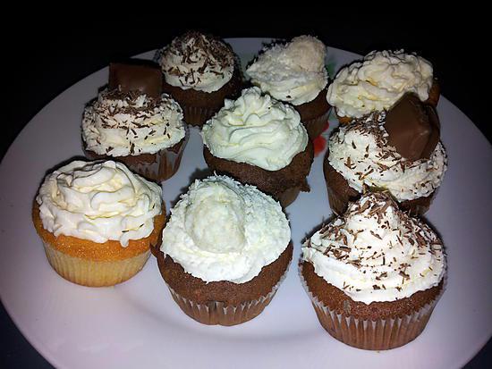 recette cupcake chocolat et cupcake citron