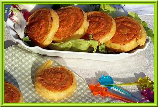 Recette de roul s feuillet s aux knackis - Temps de cuisson tartiflette ...