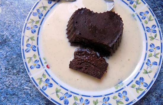 recette Fondant au chocolat dukan