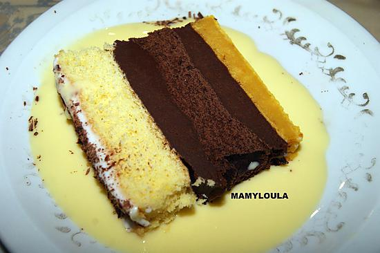recette Napolitain nature/chocolat/potimarron