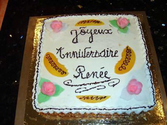 recette de gateau anniversaire