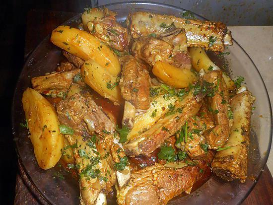 recette Ragout de travers de porc aux pommes de terre