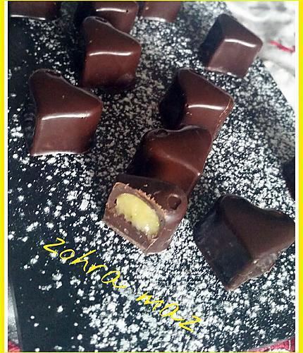 recette Chocolat fourré  au lémond curd