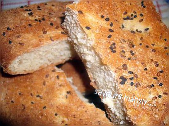recette pain au nigelles