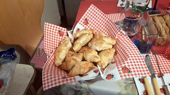 recette petits croissants au fois gras
