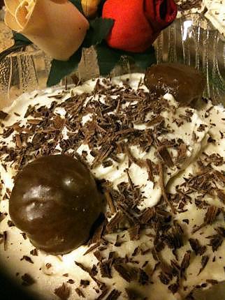 recette TIRAMISU  AUX  MARRONS  GLACES