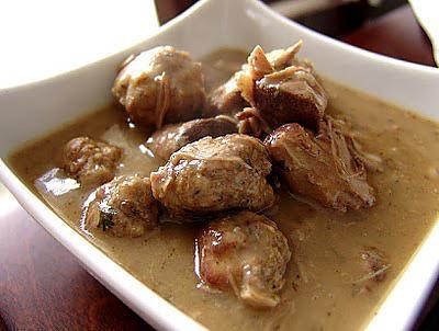 recette Ragoût de pattes de porc (Notre tradition)