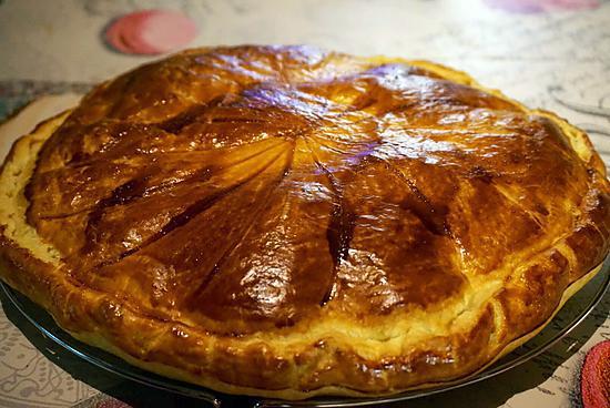 recette GALETTE DES ROIS À LA FRANGIPANE