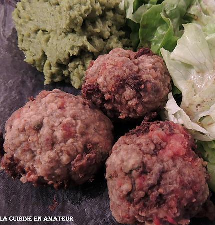 recette Boulettes de viande au chorizo