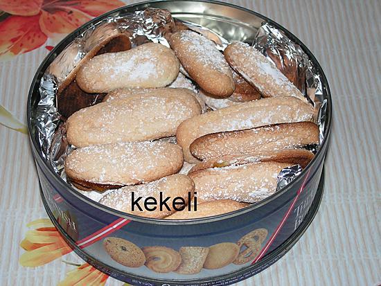 recette Biscuit à la cuillère