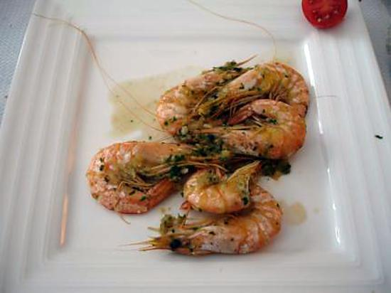 recette Crevettes maison Marie-jo