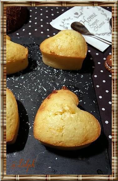 recette Bouchées à la noix de coco