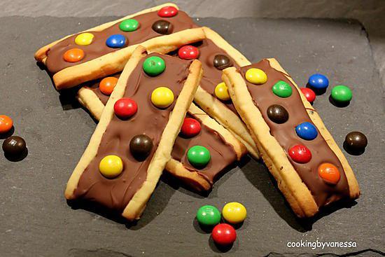 recette Biscuits aux M&M'S