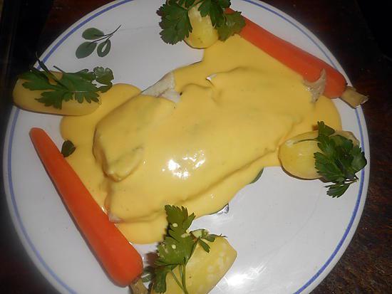 recette Filet d églefin à la vapeur sauce hollandaise