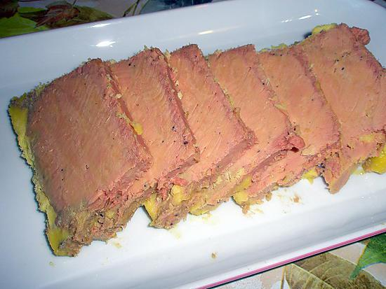 Recette de terrine de foie gras de canard - Recette terrine foie gras ...