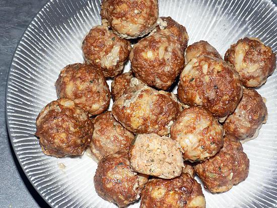 recette Croquettes chou-fleur/boeuf  (compatible dukan)