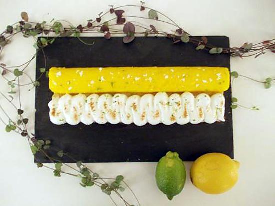 recette Tarte au citron meringuée revisitée