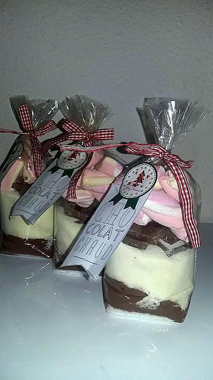 Favori Recette de Kit pour chocolat chaud a offrir HG59