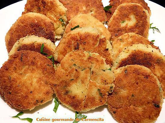 recette Beignets de pommes de terre
