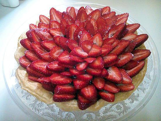 Recette de tarte au chocolat aux fraises - Recette tarte aux chocolat ...