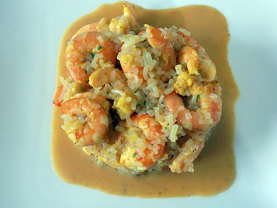 recette de risotto de crevettes dukan. Black Bedroom Furniture Sets. Home Design Ideas