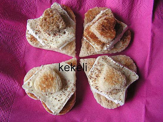 recette Toast de la St Valentin