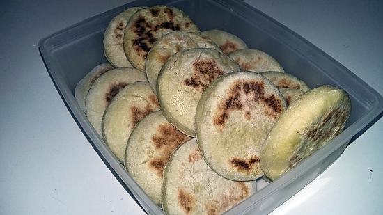recette Petits pain a la semoule Batbout