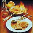 recette crêpe suzette