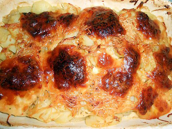 recette de gratin de pommes de terre oignons. Black Bedroom Furniture Sets. Home Design Ideas