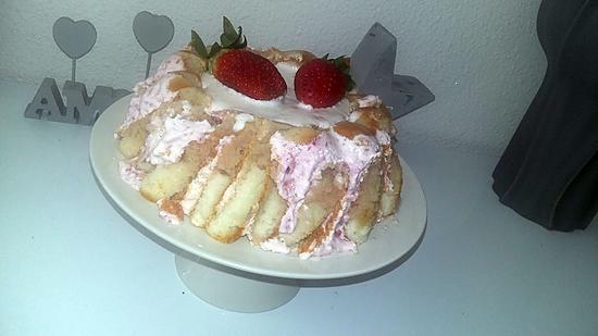 Recette de charlotte aux fraises mascarpone - Jeux de charlotte aux fraises cuisine gateaux ...