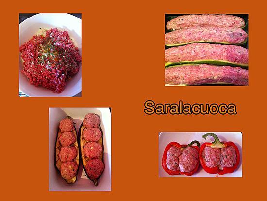 recette Légumes farcis ( au boeuf )