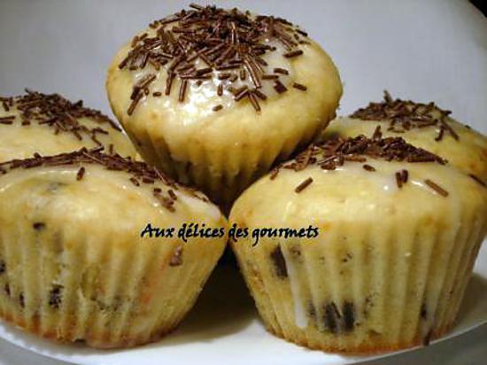 recette Muffins au babeurre et aux pépites de chocolat