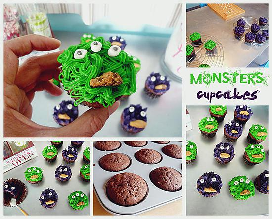 recette Monsters Cupcakes