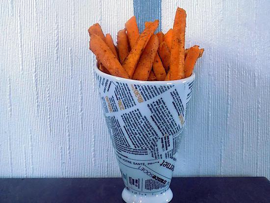 recette de frites de courge butternut au four compatible dukan. Black Bedroom Furniture Sets. Home Design Ideas
