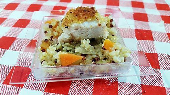 recette Taboulé quinoa boulgour recette Annne Sophie Pic