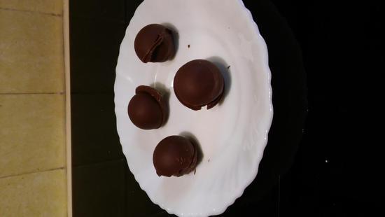 recette BOUCHEES CHOCOLAT NOISETTES