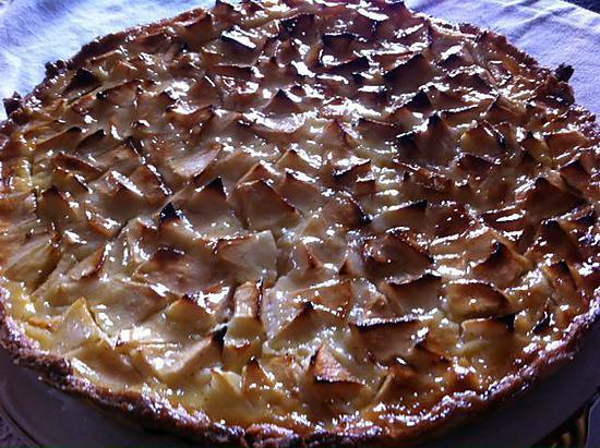 recette Tarte aux pommes alsacienne