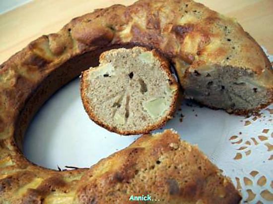 Recette de g teau aux noix pomme - Gateau aux noix et pommes ...